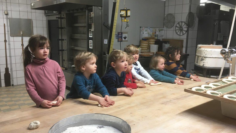 Besuch in der Bäckerei